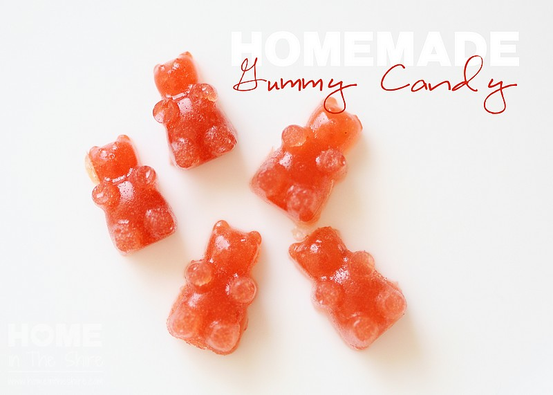 Healthy Homemade Gummy Fruit Snacks