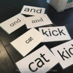 Fast Flashing to Teach Reading – Flash Cards