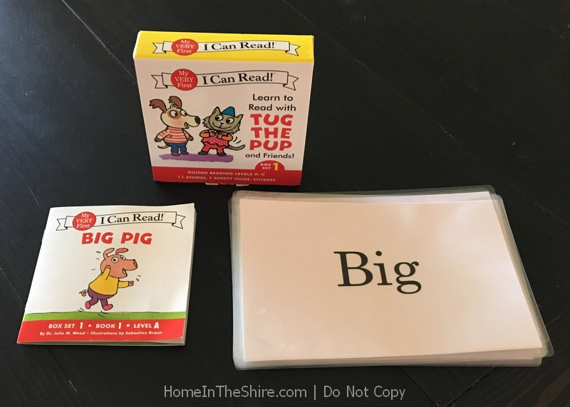 Easy Readers and Flash Cards | HomeInTheShire.com